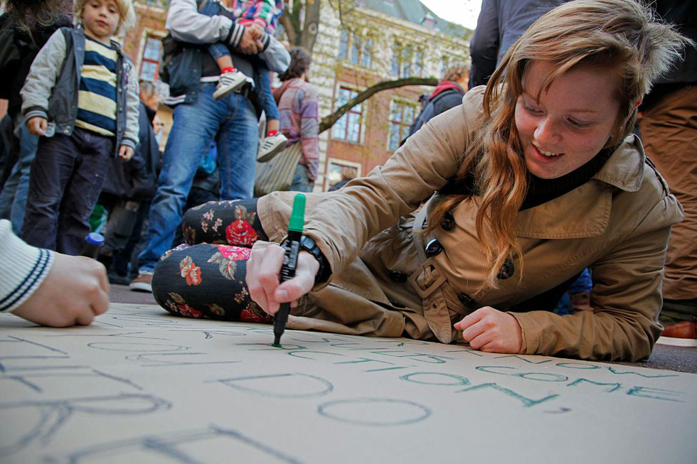 Occupy Amsterdam, Holland