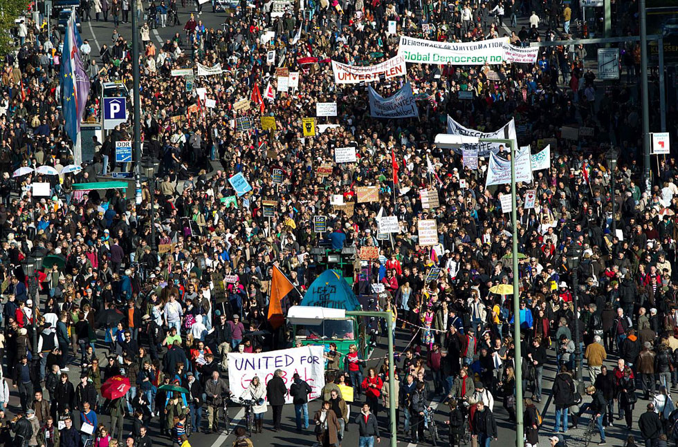 Occupy Berlin, Germany