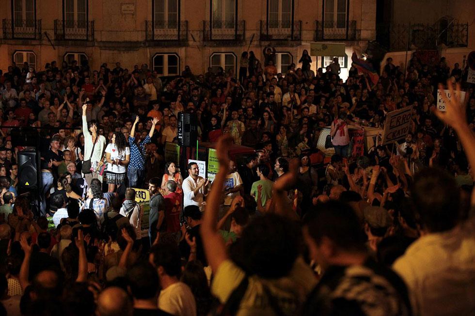 Occupy Lisbon, Portugal