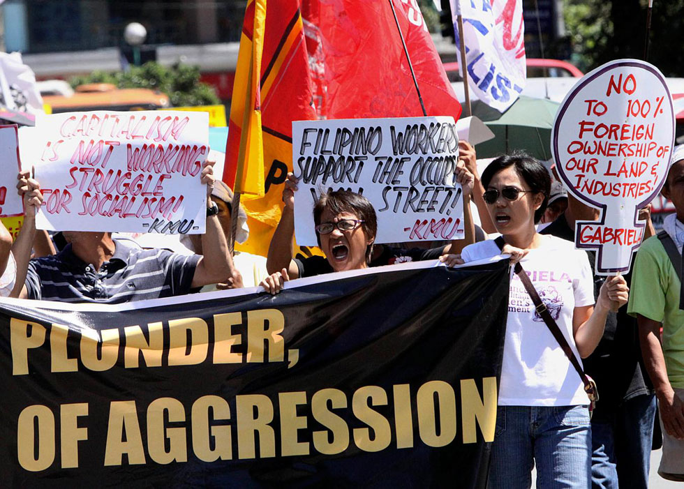Occupy Manilla, The Philippines