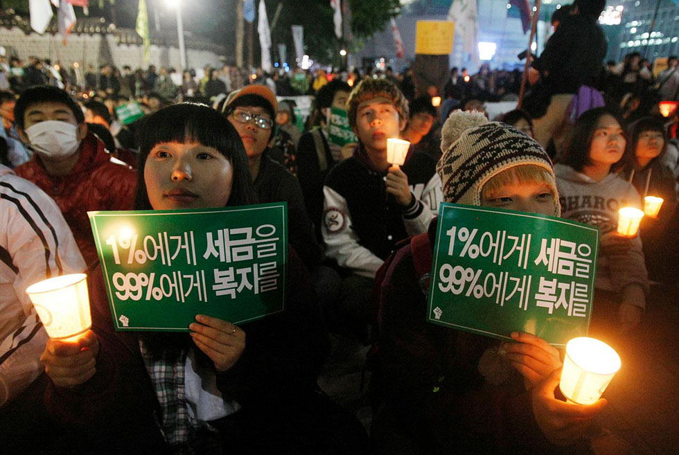 Occupy Seoul, South Korea