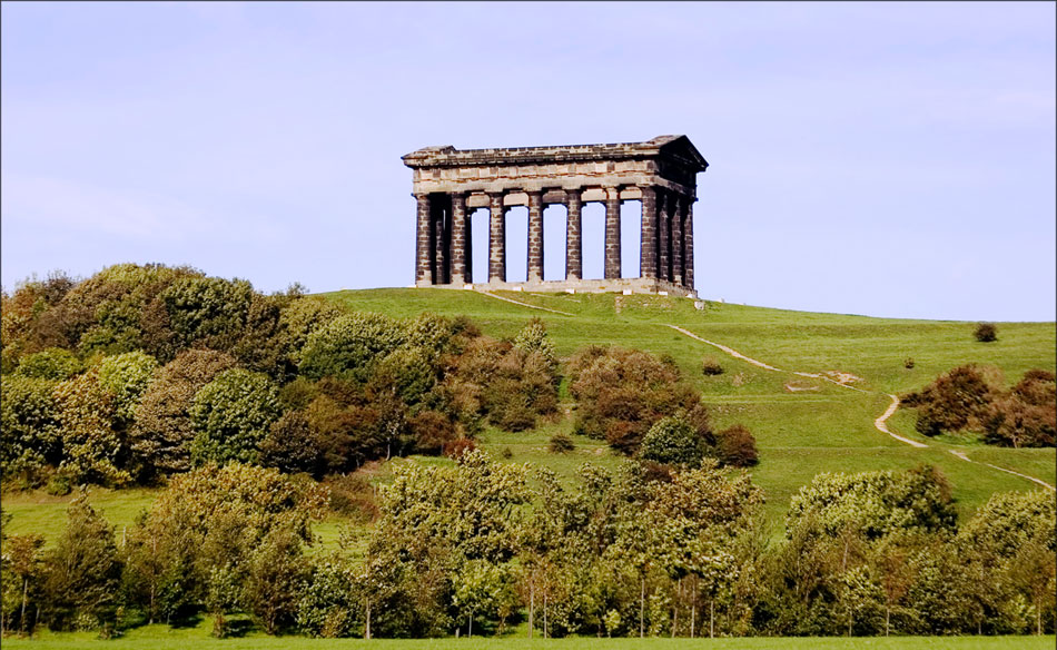 Penshaw Monument, Sunderland, North East England